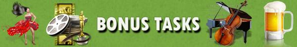 Bonus tasks