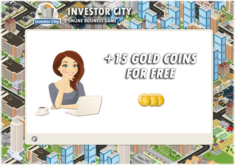 +15 gold coins